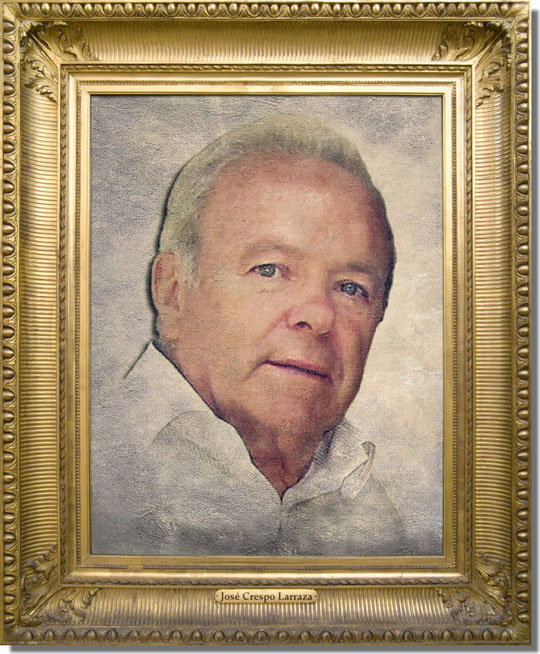 Portrait de José Crespo Larraza