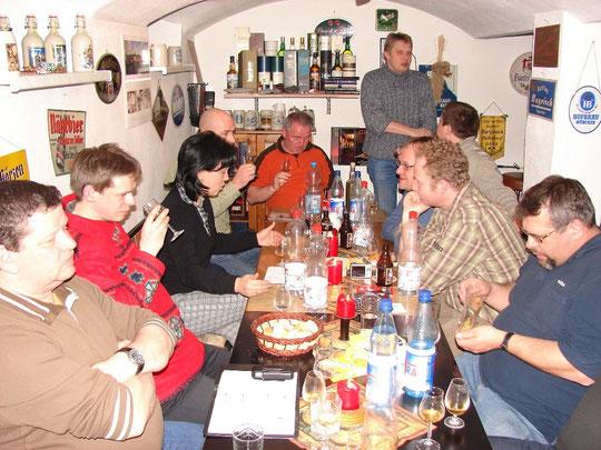 Sachsen-Tasting im Arrankeller