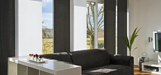 vorh nge moderne vorh nge individuelle stoffe. Black Bedroom Furniture Sets. Home Design Ideas