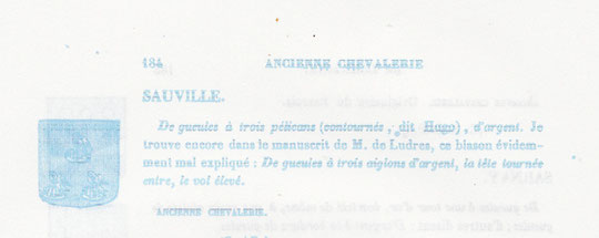 Armorial historique lorrain par Jean Cayon 1850