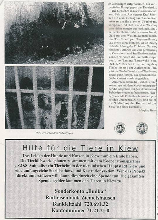 Das Morden in der Tierhölle von Kiew (Teil 4)