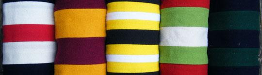 Clubschals in verschiedenen Farben von Joint Colours