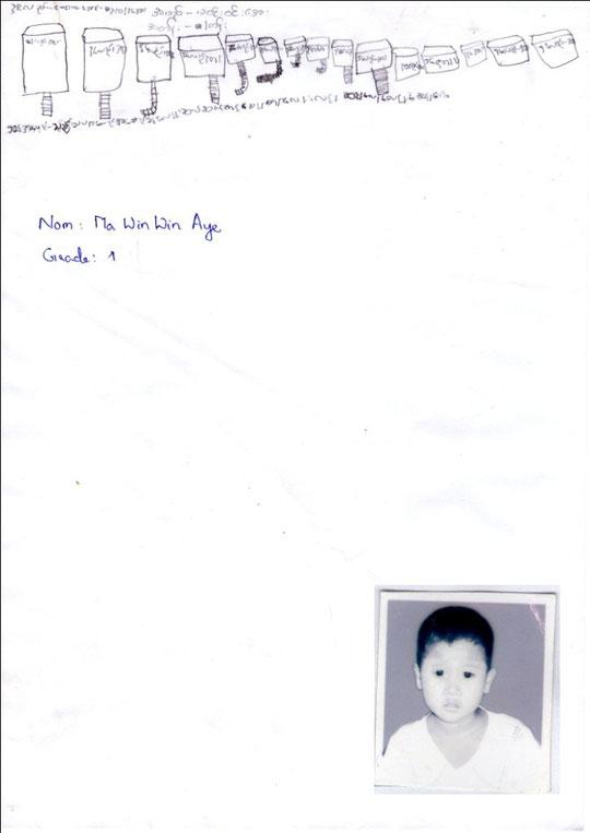Ma WIN WIN AYE - garçon - 6 years (4.6.2006) - CP - 7 FRÈRES ET SOEURS - REVENUS DU FOYER : 80 €.