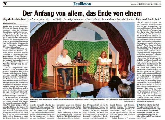 Landsberger Tagblatt, © ANDREAS FREY