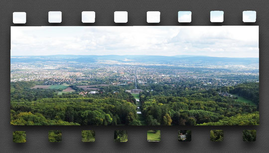 Blick vom Herkules über Kassel
