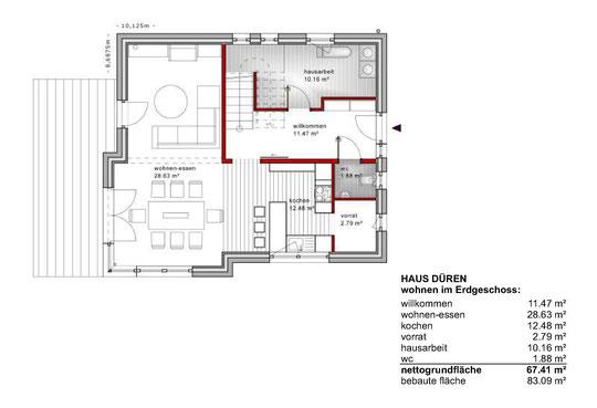 Erdgeschoss (klick vergrößern)