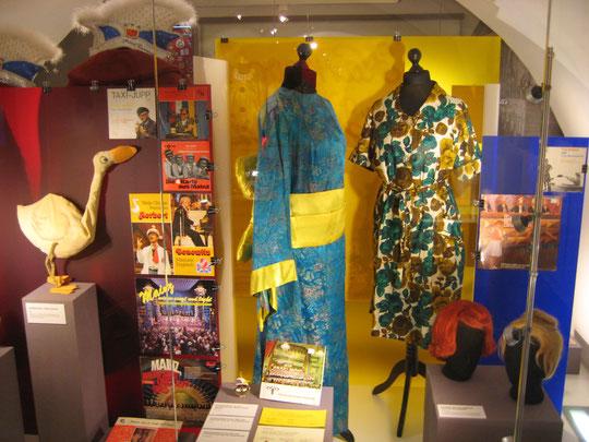 Kostüme und Bühnenoutfits von Meenzer Fastnachtsgrößen