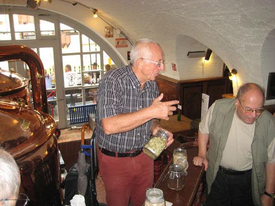Brauereiführung im Eisgrub Bräu Mainz mit dem ehemaligen Braumeister