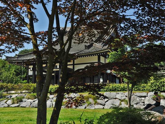 Eko Haus - der Garten