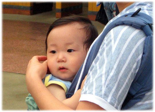 Pictures of a Korean baby. It is very cute! Bild von einem koreanischen Baby in Seoul, der Hauptstadt von Südkorea