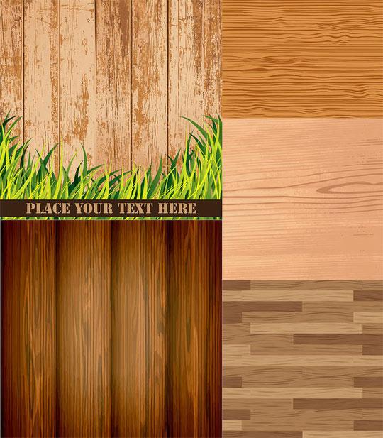 木目の背景 Wood grain background vector material