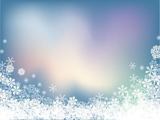 雪の結晶の背景 SNOWFLAKE SYMPHONY VECTOR