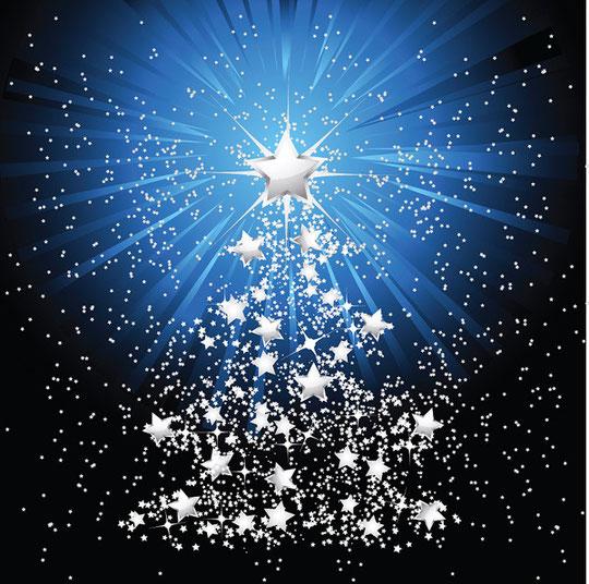 クリスマス・ツリーをイメージしたイラスト EXQUISITE CHRISTMAS TREE VECTOR3