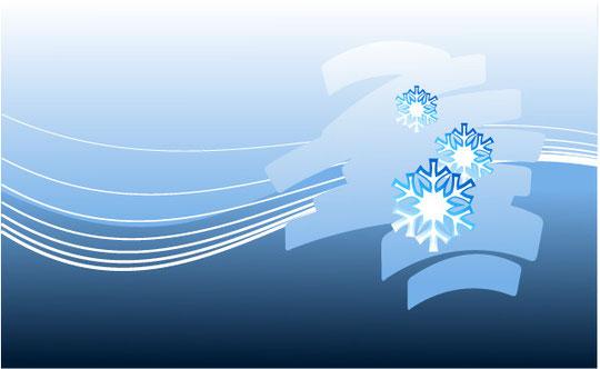 クリスマスの雪の背景 CHRISTMAS SNOWFLAKES VECTOR BACKGROUND7
