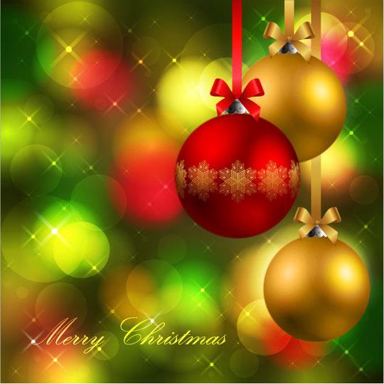 煌めくクリスマスの背景 beautiful christmas background4