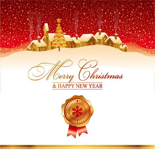 煌めくクリスマスの背景 beautiful christmas background6