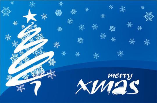 クリスマスの雪の背景 CHRISTMAS SNOWFLAKES VECTOR BACKGROUND5