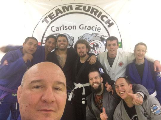 Akatsuki Dojo Karate-MMA, Marco Kuster, Carlson Gracie Jr.