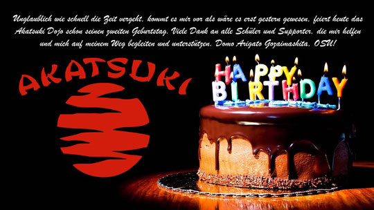 Happy Birthday Akatsuki Dojo Karate-MMA