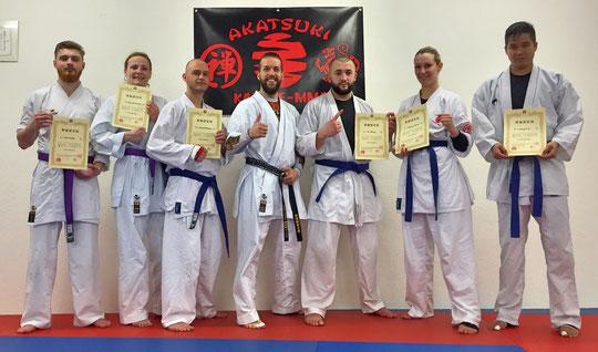 Belt Test Zendokai Akatsuki Dojo Karate-MMA