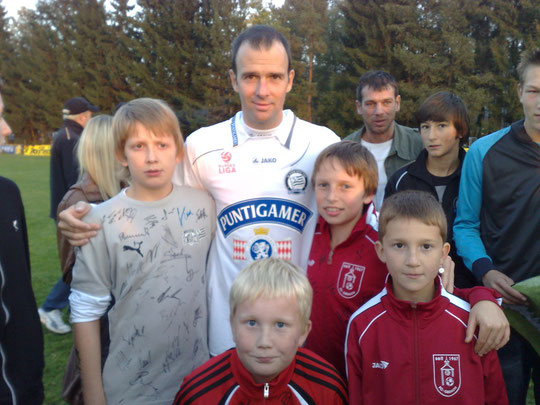 Fössl Fabian, Pabst Thomas, Grillitsch Thomas, Fössl Philipp und Mario Haas