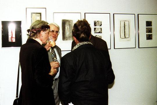 Vernissage der Ausstellung von Amador Vallina in der Galerie Busch, München