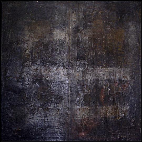 Amador Vallina: Nacht auf Stroh | Malerei - Pintura - Painting