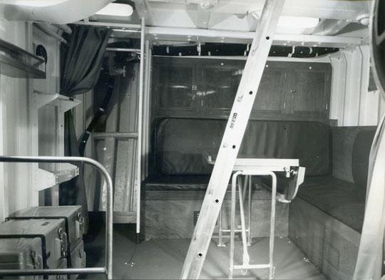 """Mannschaftswohndeck S """"Strahl"""" - Bild: Archiv Brunsbach"""
