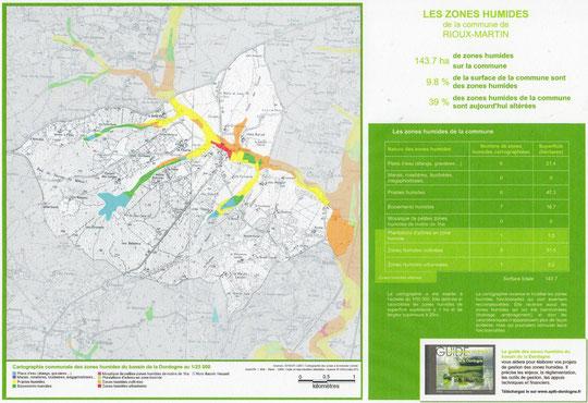 Zones humides sur Rioux-Martin / EPIDOR