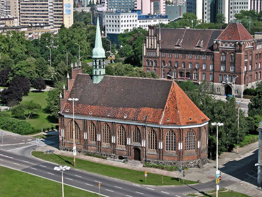 Stettin, St. Peter und Paul heute.