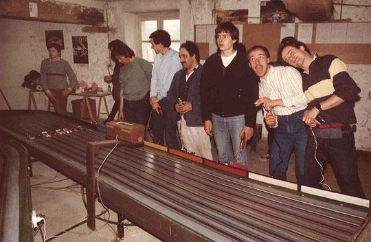 Grand Prix de Thoiry 1984. Départ finale production .