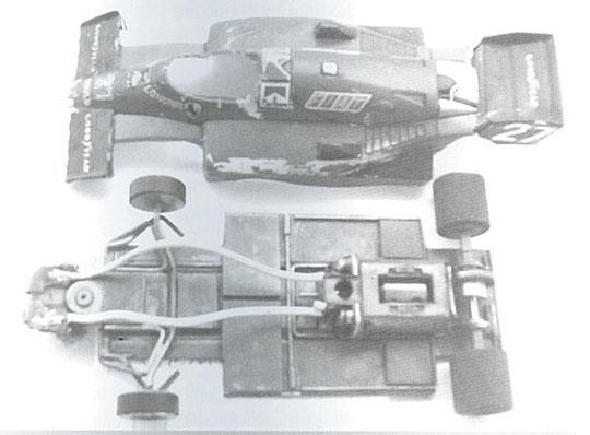 Une Ferrari F 1 construite par Tim Ryan avec un moteur cage 13UO