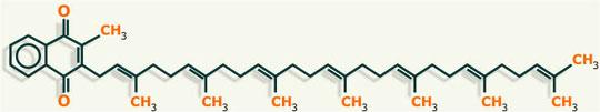 estructura vitamina k