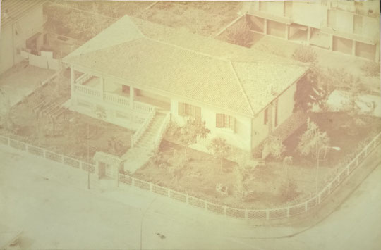 """""""La casa della maglieria"""". Il nostro laboratorio in una vecchia foto."""