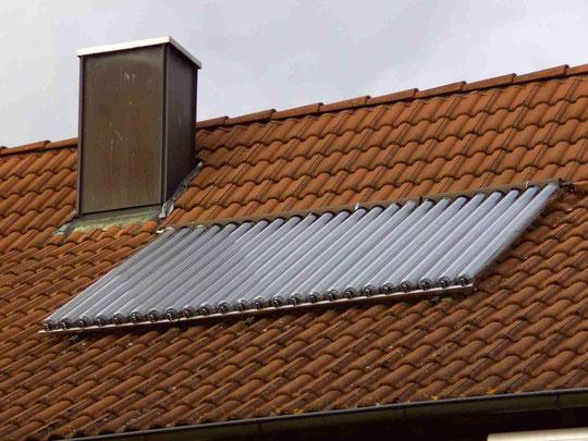 Solar Wärme Kollektor Wärme erzeugen und entsprechend Kosten reduzieren