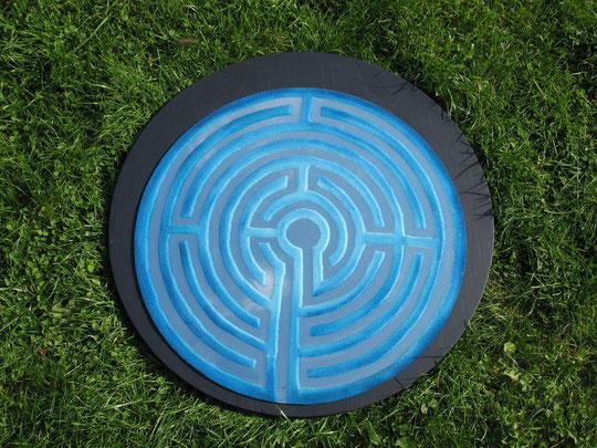 Spiegellabyrinth nach dem Labyrinth von Ravenna (Objekt) 2011 Heidi Esch