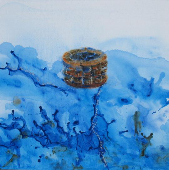 Es macht die Wüste so schön, dass sie einen Brunnen hat. Antoine de Saint-Exupéry. 2012 Heidi Esch