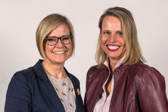 Unser Schulleitungsteam: Frau Rettig und Frau Schröder