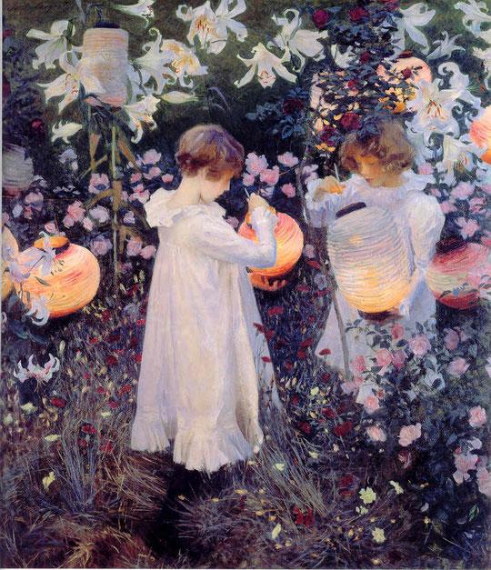 """Carnation, Lily, Lily, Rose"", de John Singer Sargent (1856-1925), en la Tate Britain, Londres"