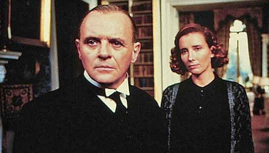 "Servidumbre implacable: Anthony Hopkins y Emma Thompson en ""The Remains of the Day"""