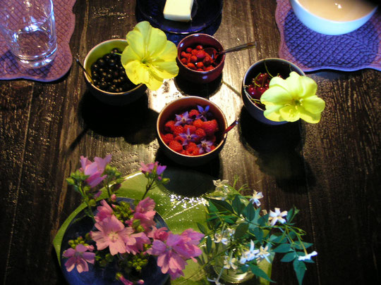 des fleurs à goûter