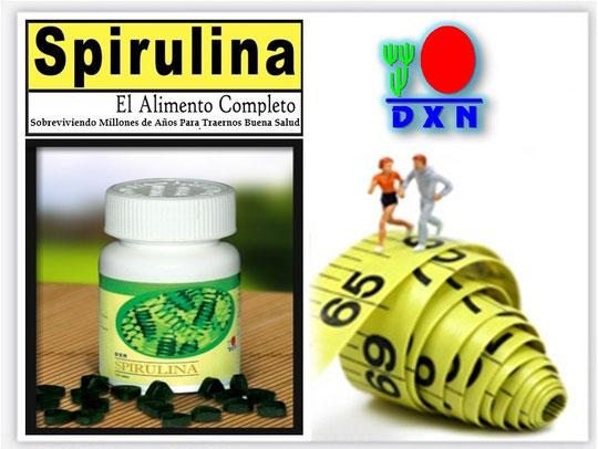 El Alga Espirulina de la compañía DXN.