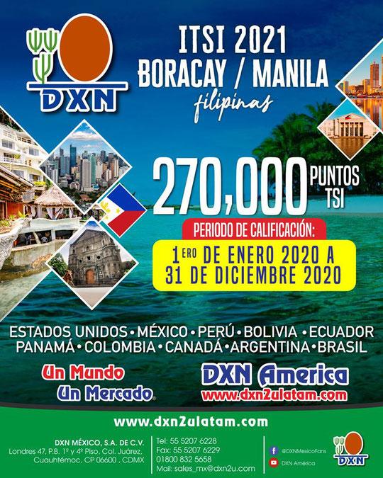 Incentivo de Viaje Anual TSI de DXN en Perú