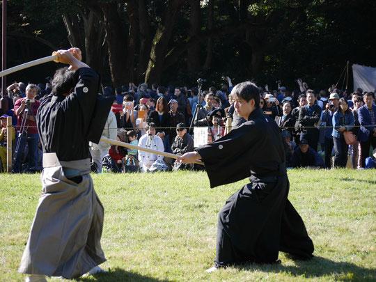 明治神宮奉納演武 六尺棒(刀と棒)
