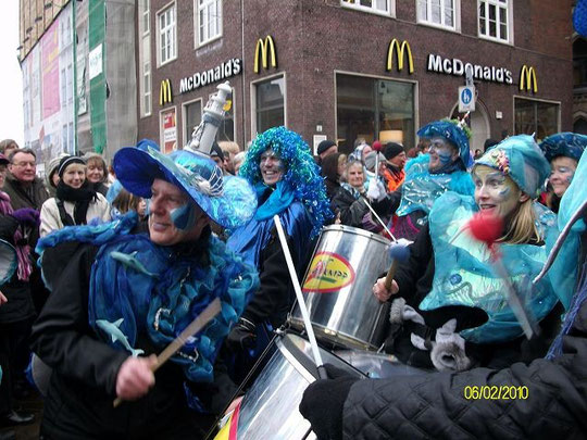 "Bremer Karneval ""Land Unter"" 2010"