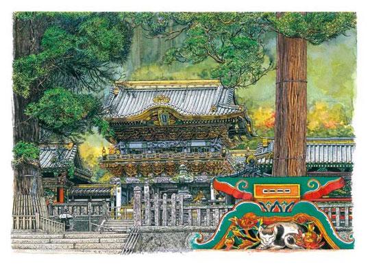 日光の社寺・東照宮と眠り猫