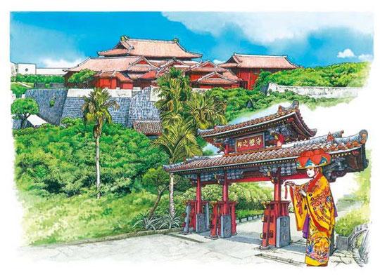 首里城「琉球王国のグスク及び関連遺産群」