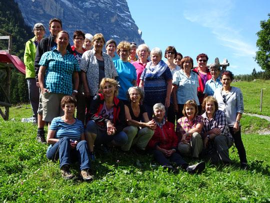 Das Gruppenfoto der diesjährigen Frauenriege-Reise