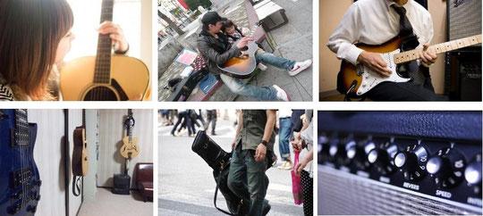 山梨甲府市にあるギター教室