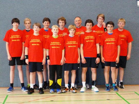 Männliche C-Jugend - Saison 2011/12 - Jahrgang 1997/98 - REGIONSMEISTER